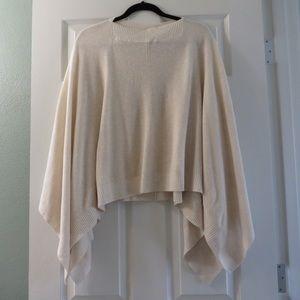 Rare Lululemon light pinkcream slouchy sweater top